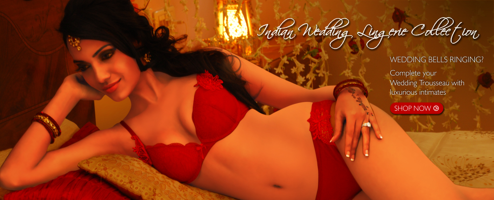 Indian Wedding Lingerie Collection by ShopImagine-Pre-wedding, Wedding & Post Wedding Collection, Trousseau Lingerie, Bridal Lingerie